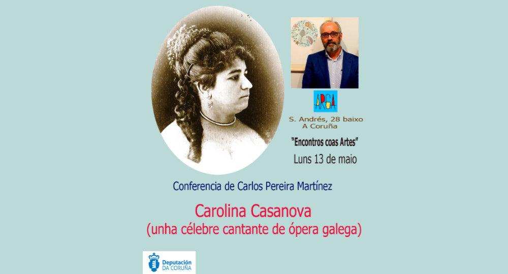 «Encontros coas Artes» Carolina Casanova