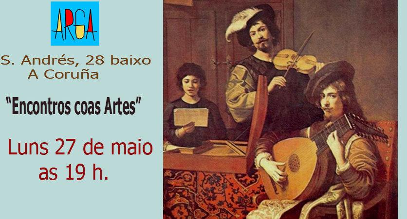 «Encontros coas Artes» A música retratada polos grandes pintores